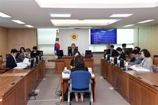 제281회 정례회 도시계획관리위원회 회의 이미지