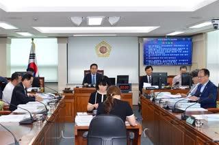 제281회 정례회 교통위원회 회의 이미지