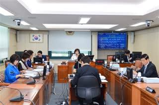 제281회 정례회 보건복지위원회 회의 이미지