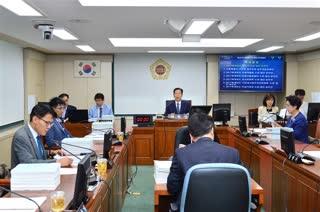 제281회 정례회 행정자치위원회 회의 이미지