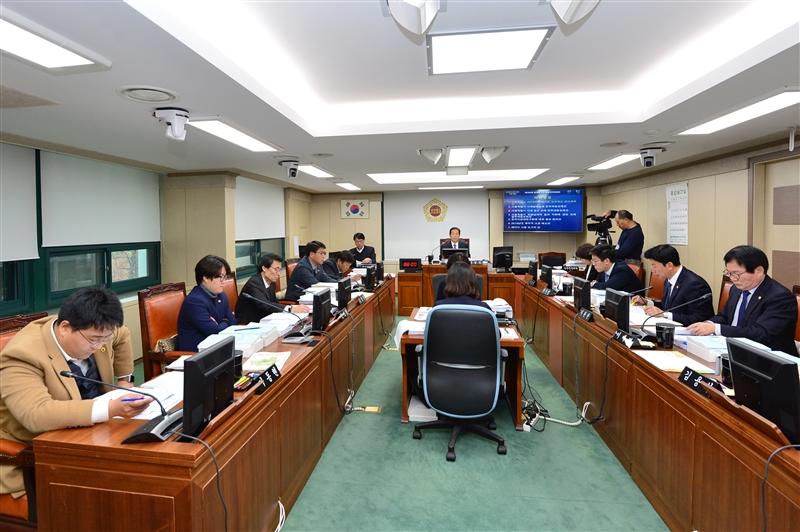 제284회 정례회 행정자치위원회 회의 이미지