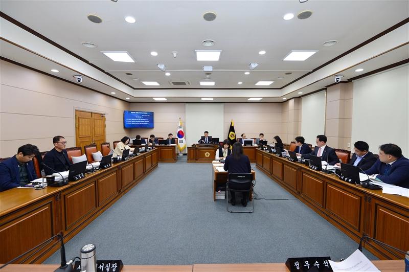 제284회 정례회 운영위원회 회의 이미지
