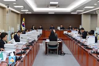 제284회 정례회 예산결산특별위원회 회의 이미지