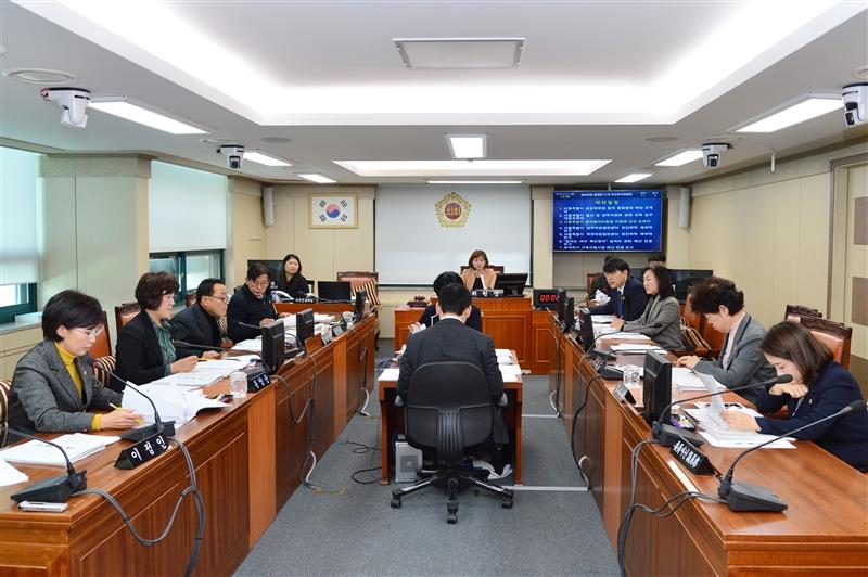 제284회 정례회 보건복지위원회 회의 이미지