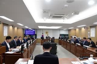 286회 임시회 도시안전건설위원회 2019-04-24