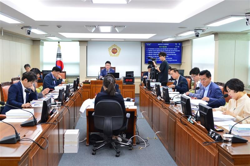 제287회 임시회 교통위원회 회의 이미지