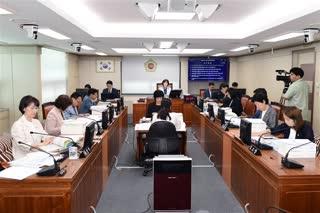 제287회 정례회 보건복지위원회 회의 이미지