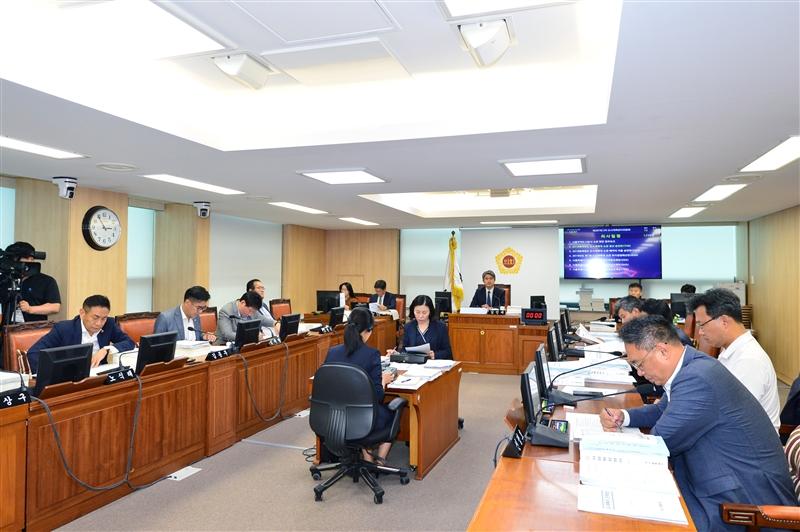 제287회 정례회 도시계획관리위원회 회의 이미지