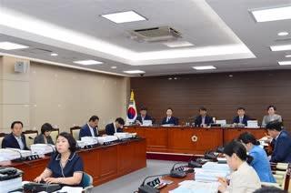 제287회 정례회 예산결산특별위원회 회의 이미지