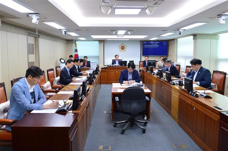 제288회 임시회 기획경제위원회 회의 이미지