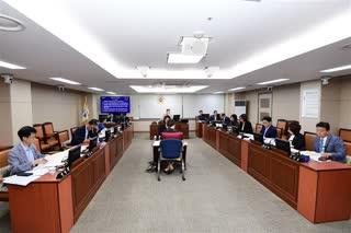 제289회 임시회 교육위원회 회의 이미지