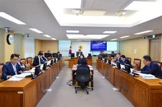 제289회 임시회 도시계획관리위원회 회의 이미지