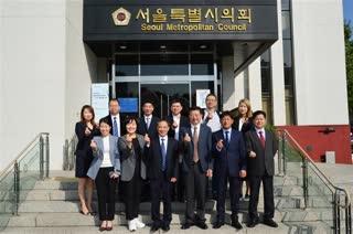 한중우호교류협의회 중국방문단 방문 2019-10-21
