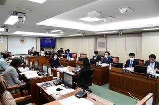 제293회 임시회 폐회중 환경수자원위원회 회의