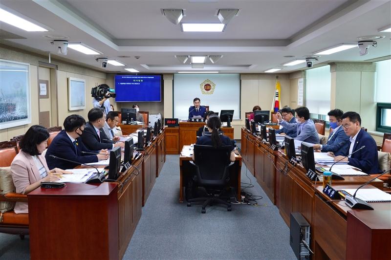 제15차 서울특별시의회 체육단체 비위근절을 위한 행정사무조사 특별위원회 이미지