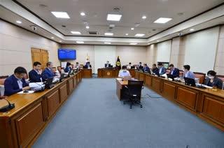 제296회 임시회 폐회중 운영위원회 회의