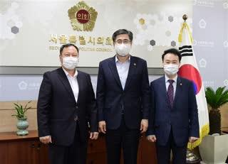 경상북도의회 도기욱 부의장 접견
