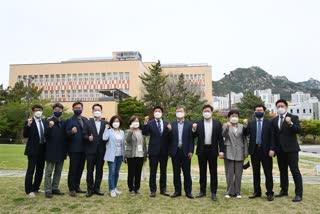 300회 임시회 행정자치위원회 서울혁신파크 현장방문