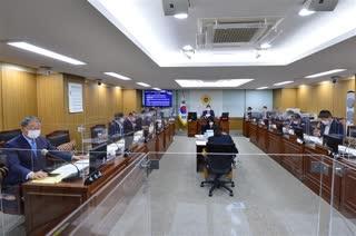 제300회 임시회 도시안전건설위원회 회의