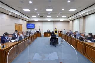 제301회 정례회 운영위원회 회의