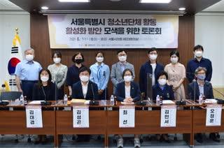 서울특별시 청소년단체 활동 활성화 모색을 위한 토론회
