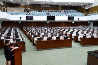서울시민 30가족 본회의장 참관